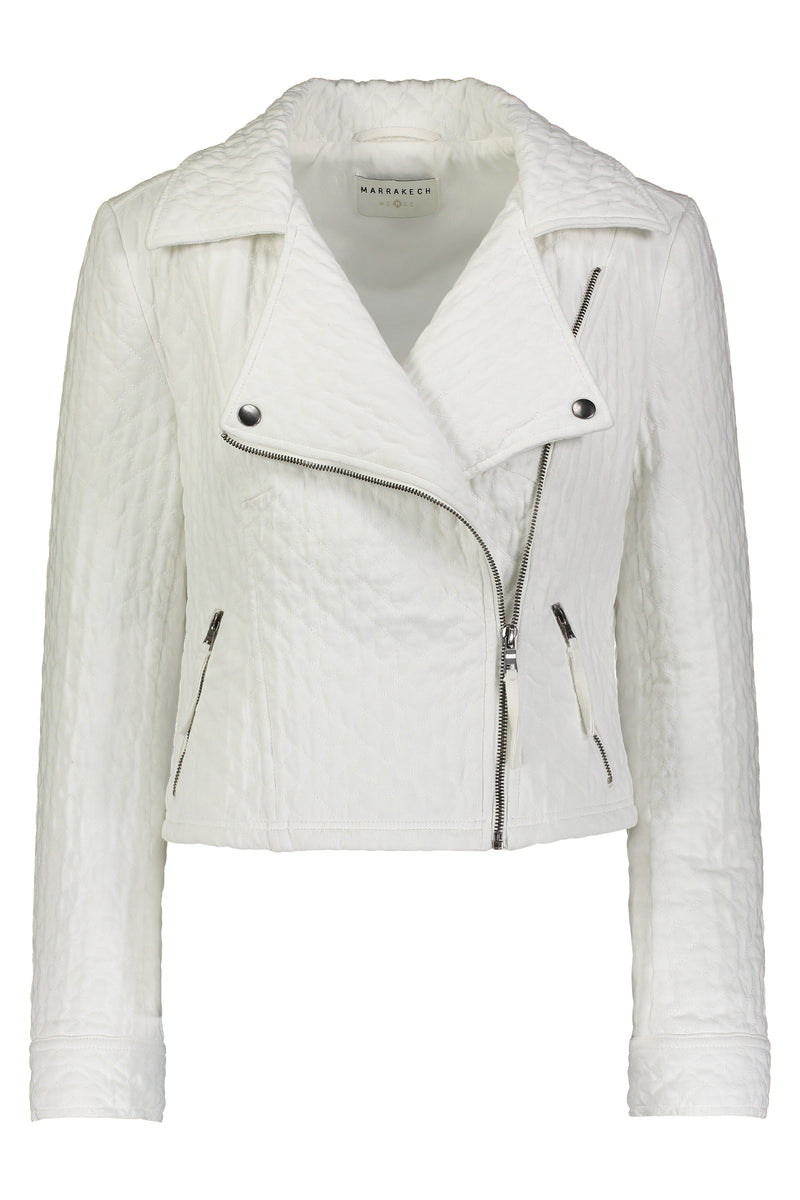 Anderson Quilted Moto Jacket - Marrakech Clothing