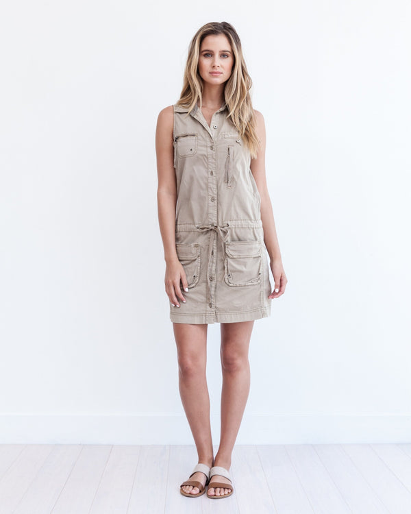Panama Cargo Dress - Marrakech Clothing
