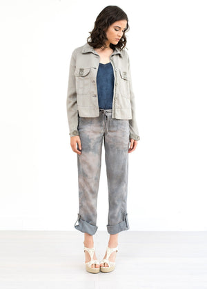 Sloane Swing Jacket - Cloud