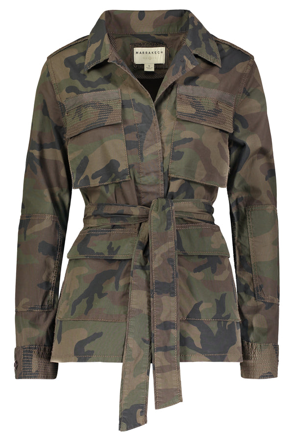 Demi Belted Utility Jacket - Marrakech Clothing