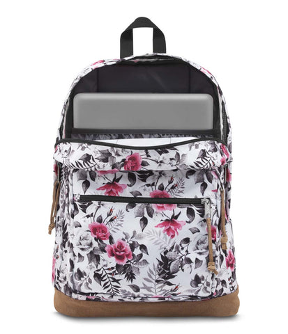 MULTI BLACK/WHITE GRAPHIC FLORAL