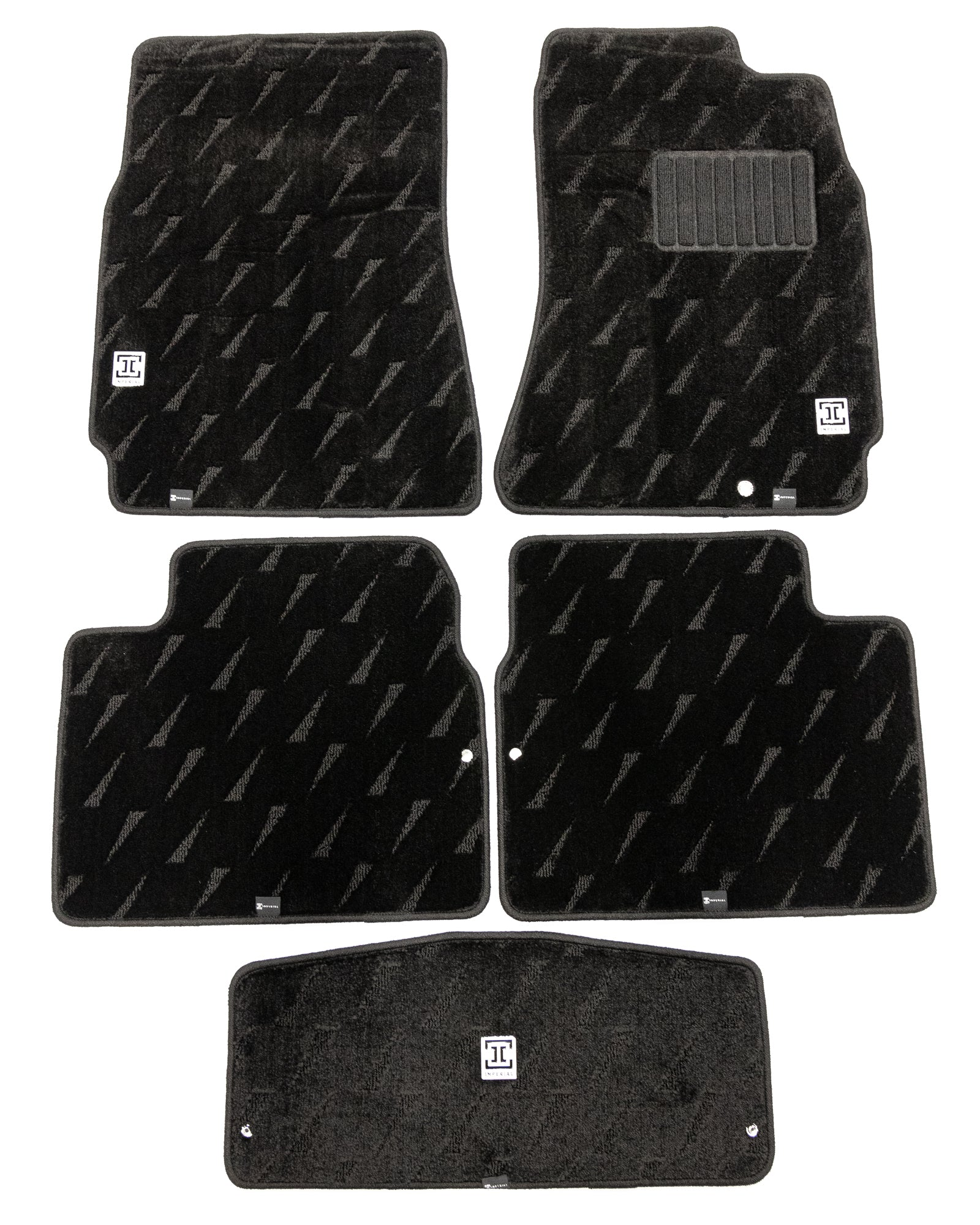 Imperial 1994-1998 Nissan Skyline R33 Coupe and Sedan (RWD Models Only) Floor Mats 5 Piece Set