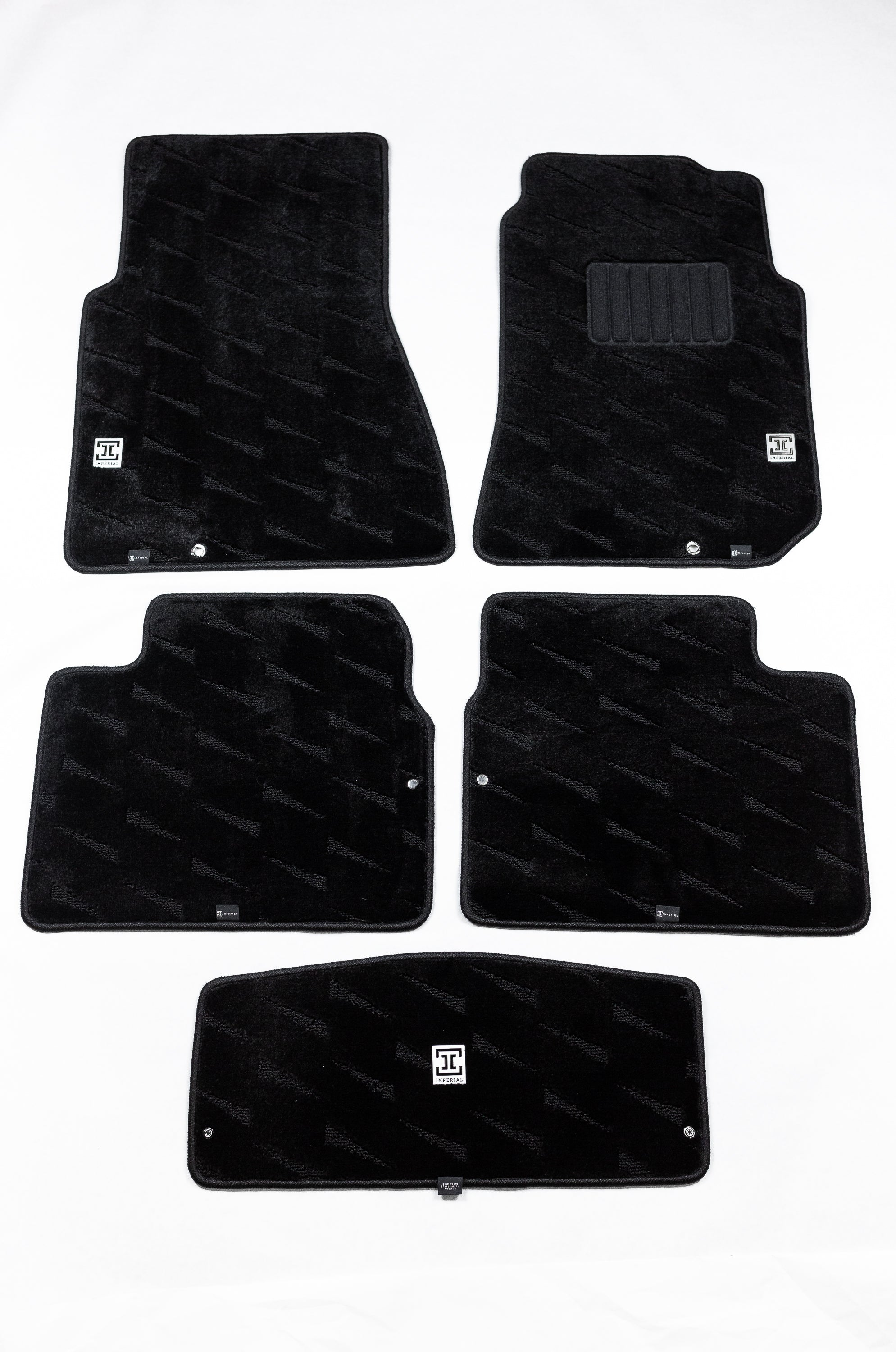 Imperial 1989-1994 Nissan Skyline R32 GT-R and GTS-4 5 Piece Floor Mats Set (AWD Models Only)