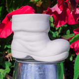 "Cute Santa Boot 3.1"" Ready to Paint Ceramic Bisque"