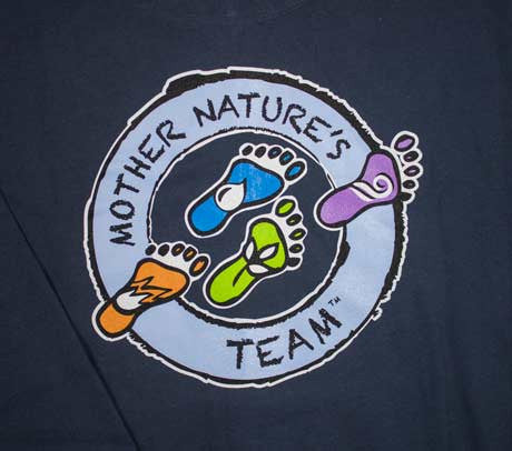 Mother Nature's Team Pullover Hoody for Men