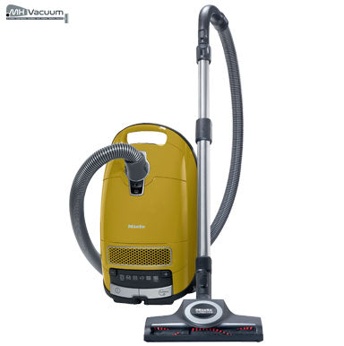 Miele Complete C3 Calima HEPA Vacuum Cleaner - Curry Yellow - MH Vacuums