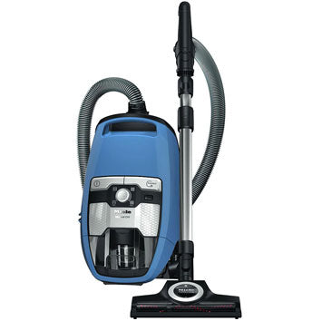 Miele Blizzard CX1 Turbo Team Bagless Canister Vacuum - Blue - MH Vacuums
