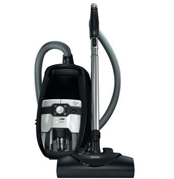 Miele Blizzard CX1 Electro+ Bagless Canister Vacuum - Black - MH Vacuums