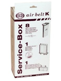 SEBO Service Box K Series - MH Vacuums