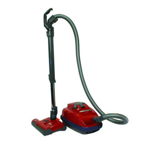 SEBO AirBelt K3 Vacuum Canister Cleaner ET-1 Power Head - Red