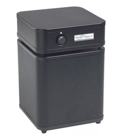 Austin Air HealthMate Jr.™ Air Purifier 700 sq. ft. (Black)  360-degree intake system with 4-stage filter and 5 Year Warranty