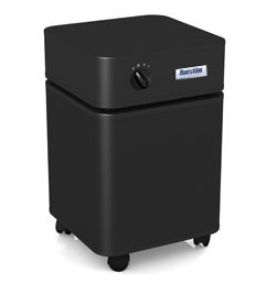 Austin Air Allergy Machine™ Jr. 700 sq ft.  Air Purifier (Black) Draws over 125 cubic feet of air through a 4-stage HEGA filter