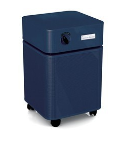 Austin Air Bedroom Machine™ Air Purifier 1500 sq. ft. (Blue) 360-degree intake system with 5-stage filter and 5 Year Warranty