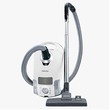 Miele Compact C1 Pure Suction Canister Pure Suction Vacuum Cleaner White - SCAE0
