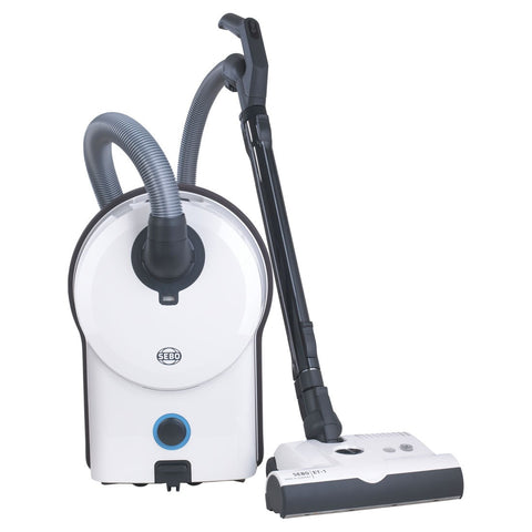 SEBO Airbelt D4 Premium Canister Vacuum Cleaner - White - MH Vacuums