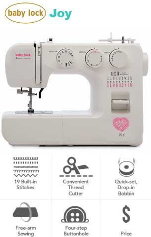 Baby Lock Joy Genuine Collection Sewing Machine - BL25B