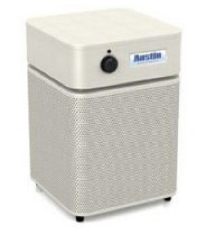 Austin Air HealthMate Jr.™ Air Purifier 700 sq ft. (Sand) 360-degree intake system with 4-stage filter and 5 Year Warranty - MH Vacuums