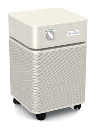 Austin Air Bedroom Machine™ Air Purifier 1500 sq ft. (Sand) 360-degree intake system with 5-stage filter and 5 Year Warranty - MH Vacuums