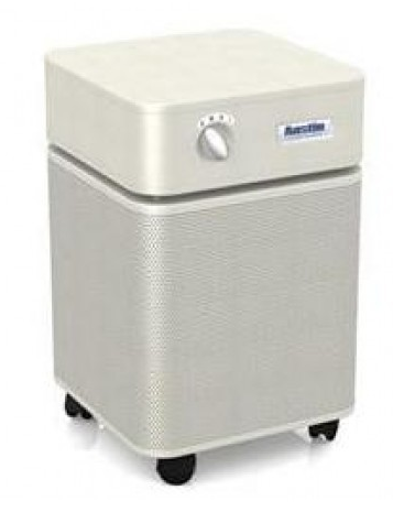 Austin Air Allergy Machine™ Jr. 700 sq ft.  Air Purifier (Sand)  Draws over 125 cubic feet of air through a 4-stage HEGA filter - MH Vacuums