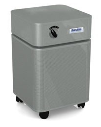 Austin Air HealthMate Plus™ Air Purifier 1500 sq ft. (Silver)  360-degree intake system with 4-stage filter and 5 Year Warranty