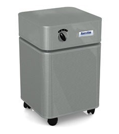 Austin Air  HealthMate™ Air Purifier 1500 sq. ft (Silver) 360-degree intake system with 4-stage filter and 5 Year Warranty