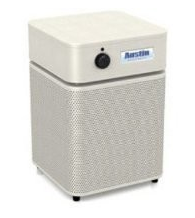 Austin Air HealthMate Jr.™ Air Purifier  700 sq ft. (White) 360-degree intake system with 4-stage filter and 5 Year Warranty - MH Vacuums