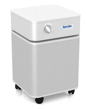 Austin Air  HealthMate™ Air Purifier 1500 sq. ft. (White) 360-degree intake system with 4-stage filter and 5 Year Warranty - MH Vacuums