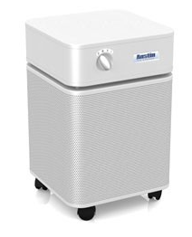 Austin Air HealthMate Plus™ Air Purifier 1500 sq ft. (White) 360-degree intake system with 4-stage filter and 5 Year Warranty