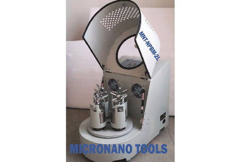 110V Planetary Ball Mill 4X500ml - Lubrication Free, Vacuum & Inert gas compatible
