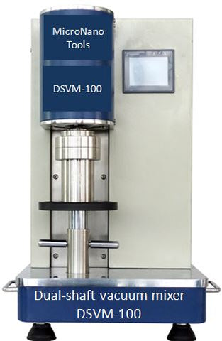 Mini Dual-shaft Vacuum Mixer DSVM-100