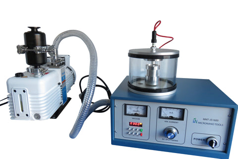 Plasma Sputter Coater with Vacuum Pump, Gold Target, & Two-year Warranty - On Promotion