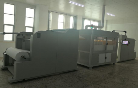 Industrial Needle-less NanoFiber Electrospinning Machine LNFES-1000