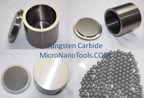 Tungsten Carbide Grinding Jars and Balls combo