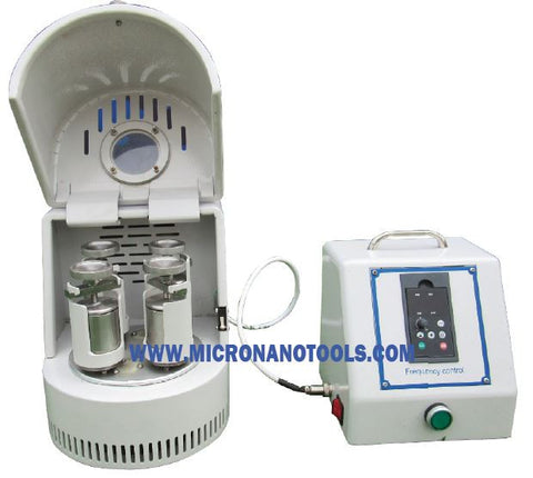 Glove-box Planetary Ball Mill (GBM-02) - 4X50ML - 2-year Warranty, Free Shipping