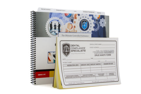 The Ultimate Controlled Substance Compliance System- Schedule II Tracking Log