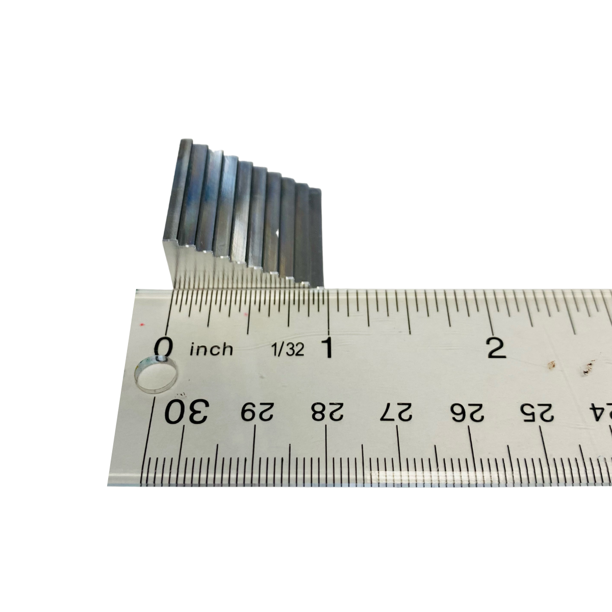 Aluminum Step Wedge (Small) for Sensors, Phosphor Storage Plates (psp) Quality Assurance Program