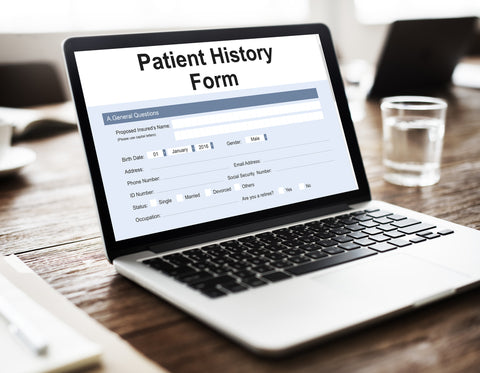 Charting Templates for Dental Electronic Record Keeping