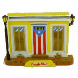 Decorative Plaque Folklore from Puerto Rico #09, 6 inches