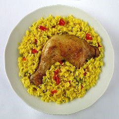 Chicken and Rice, Arroz con Pollo Recipe - www.ElColmado.com