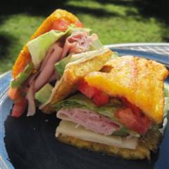 Tostones Sandwich Recipe