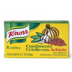 Knorr Creole with Annatto Bouillon 2 pack 2.3oz