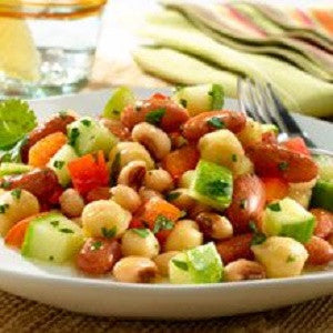 Three Beans Salad, Ensalada Tres Habichuelas Recipe