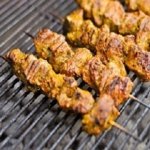 Pork Skewers, Pinchos de Cerdo Recipe