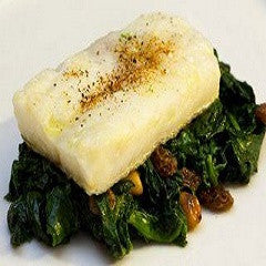 Codfish with Spinach, Bacalao con Espinacas Recipe