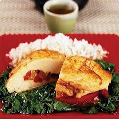 Stuffed Chicken Breast with Spinach Recipe