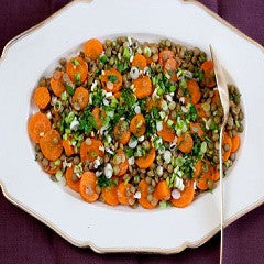 Green Pigeons and Carrot Salad Recipe