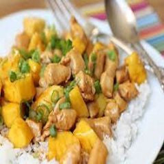 Chicken Pineapple Recipe - www.ElColmado.com
