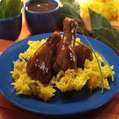 Chicken Wings with Tamarind Sauce Recipe - www.ElColmado.com