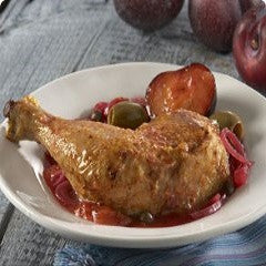 Braised Chicken Recipe - www.ElColmado.com