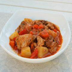 Chicken Tomato Pepper Recipe